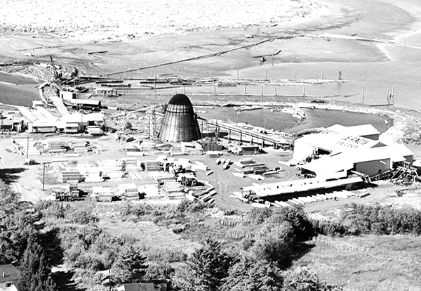 Triangle Pacific Mill in the mid-1950s